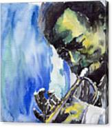 Jazz Miles Davis 5 Canvas Print
