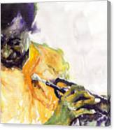 Jazz Miles Davis 7 Canvas Print