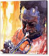 Jazz Miles Davis 8 Canvas Print