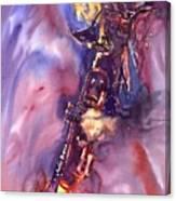 Jazz Miles Davis Electric 3 Canvas Print