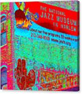 Jazz Museum Canvas Print