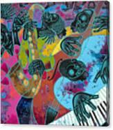 Jazz On Ogontz Ave. Canvas Print