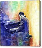 Jazz Pianist Herbie Hancock  Canvas Print