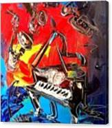 Jazz Piano Canvas Print