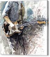 Jazz Rock John Mayer 05  Canvas Print