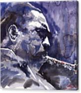 Jazz Saxophonist John Coltrane 01 Canvas Print