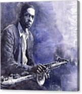 Jazz Saxophonist John Coltrane 03 Canvas Print