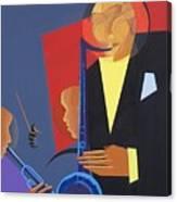 Jazz Sharp Canvas Print