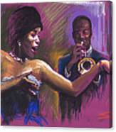 Jazz Song.2. Canvas Print