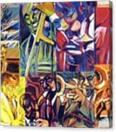 Jazz Squares Canvas Print