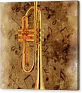 Jazz Trumpet Canvas Print