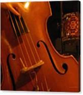 Jazz Upright Bass Canvas Print