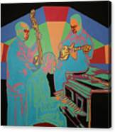 Jazzamatazz Band Canvas Print