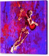 Jazzer Canvas Print