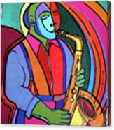 Jazzin #3 Canvas Print