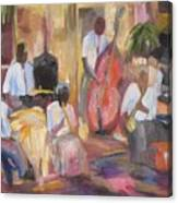 Jazzin Canvas Print