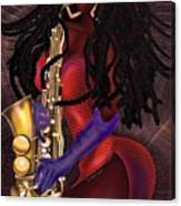 Jazzy Mama Canvas Print