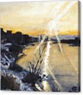 Jdu Spat Canvas Print