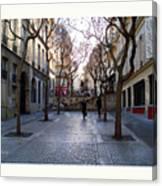 Jean Beauvais Paris Couple Walking Canvas Print