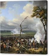 Jean Horace Vernet   The Battle Of Hanau Canvas Print
