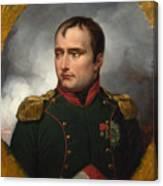 Jean Horace Vernet   The Emperor Napoleon I Canvas Print