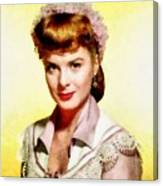 Jean Peters, Vintage Actress Canvas Print