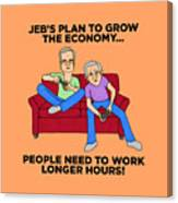 Jeb Bush Canvas Print