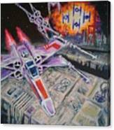 Jedi Run Canvas Print