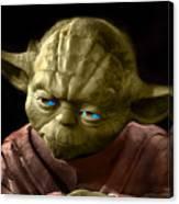 Jedi Yoda Canvas Print