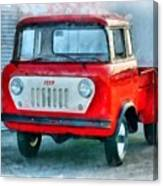 Jeep 1959 Fc150 Forward Control Pickup Canvas Print