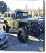 Jeep Custom Canvas Print