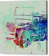 Jeep Willis Canvas Print