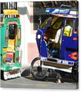 Jeepney 09 Canvas Print