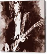 Jeff Beck - 01 Canvas Print