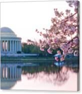 Jefferson At Sunrise Canvas Print