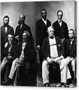 Jefferson Davis Trial Canvas Print