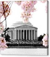 Jefferson In Spring Canvas Print