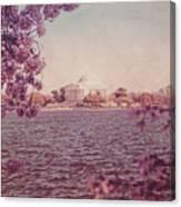 Jefferson Memorial During Spring Canvas Print