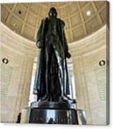 Jefferson Memorial Lll Canvas Print