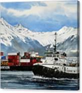 Jeffrey Foss Samson Tow Canvas Print