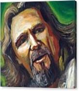 Jeffrey Lebowski The Dude Canvas Print
