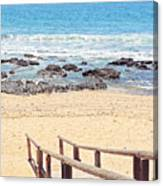 Jeffreys Bay Canvas Print
