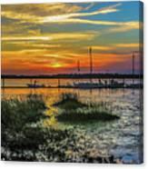 Jekyl Island Sunset Canvas Print