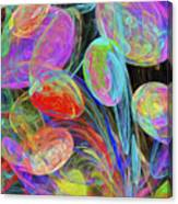 Jelly Beans And Balloons Abstract Canvas Print
