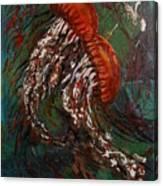 Jellyfish Dance Canvas Print