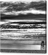 Jennings Beach, Fairfield Canvas Print