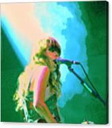 Jenny Lewis 1 Canvas Print