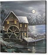 Jenny Mill Canvas Print