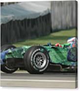 Jenson Button, Honda Ra107  Canvas Print