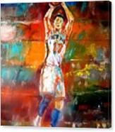 Jeremy Lin New York Knicks Canvas Print